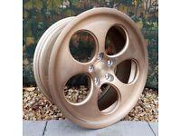 "18"" Bola B5 Brushed Bronze Alloy wheels Golf MK5, MK6, MK7, Jetta, Passat, Seat Leon MK2, MK3, Exeo"