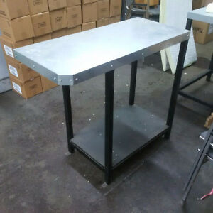 Solid Stainless Steel Work Benches Kitchener / Waterloo Kitchener Area image 1