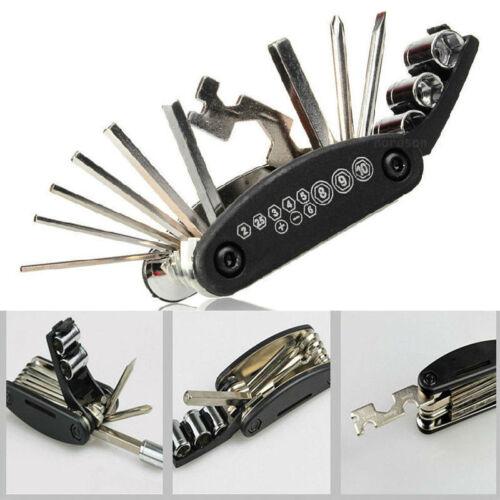 New Bike Motorcycle Repair Tools Allen Key Multi Hex Wrench Screwdriver F Honda