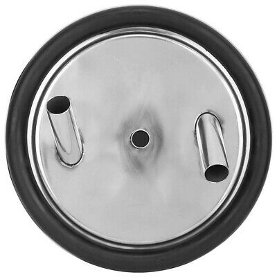 Stainless Steel Milk Can Lid With Three Open Inlets And Gaskets For Milkin H5r8