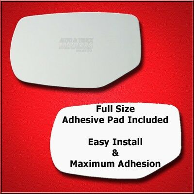 Mirror Glass Replacement + Full Adhesive For 13-17 Honda Accord Driver Side