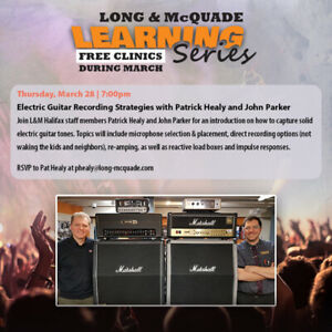 Long&McQuade Free Learning Series- March 28