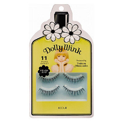 "KOJI☆Japan-Dolly Wink False Eyelash produced by TSUBASA ""No.11 Pure Sweet"""