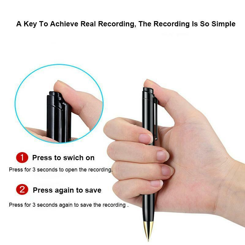 Portable Voice Recorder Pen Digital Audio Recording Noise Reduction Mp3 Player