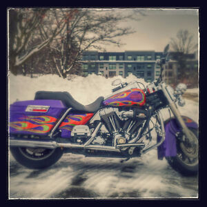 Road king Joker custom paint numbered