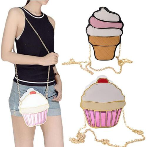 Novelty Messenger Bags Ice Cream Shoulderbag Handbags Crossb