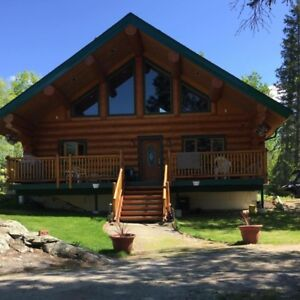 Absolutely Stunning Lakefront home for Sale in Northern Sask.
