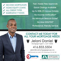 1 or 2nd Mortgages, Private mtgs up to 90% LTV, Refinancing