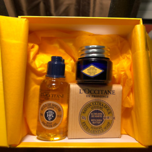 New L'Occtaine trial size products
