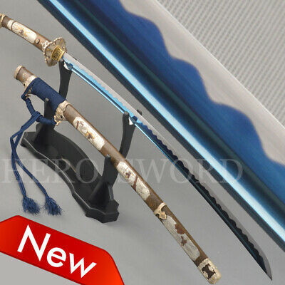 Razor Sharp Japaese Katana Handmade Samurai Sword Combat Ready Full Tang Tachi