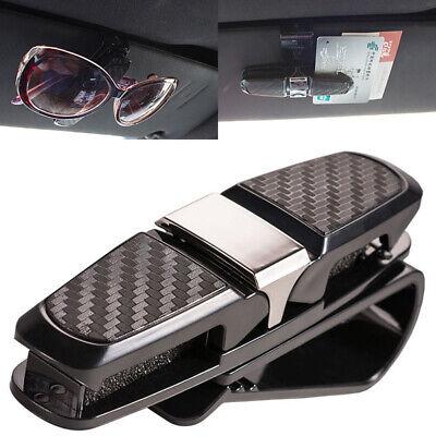 Car Auto Sun Visor Glasses Sunglasses Card Ticket Holder Clip Universal (Sunglass Visor Clips)