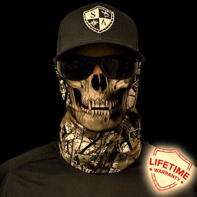 Salt Armour SA SNOW CAMO SKULL  Face Shield Sun Mask Balaclava  **USA**