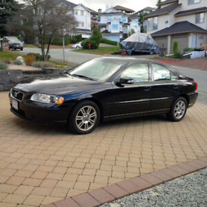 2007 Volvo S60 Turbo, Great Condition, 61,000 kms