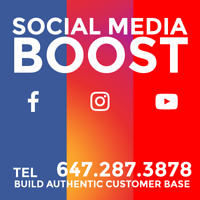 GET MORE CUSTOMERS -- via -- SOCIAL MEDIA ---------- WE CAN HELP