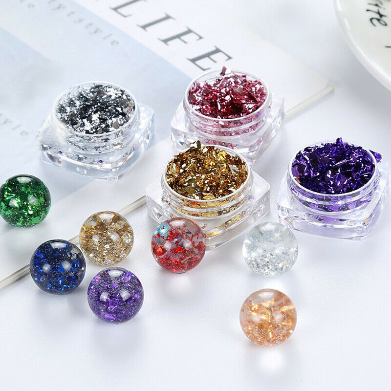 UV Resin Glitter Accessories Epoxy AF