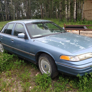 "1992 Ford Crown Victoria ""S"" Other"