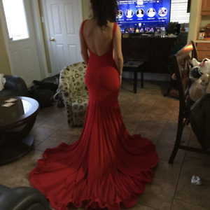 Sexy Red Prom Dress For Sale!