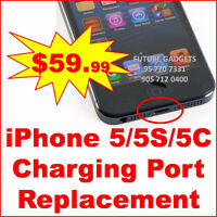iphone 5/5S/5C charging port replacement (not charging issue)