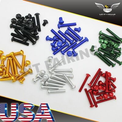 - NT Complete Fairing Bolt Kit Body Screws Fit for Honda CBR600RR 1000RR F4I 900RR
