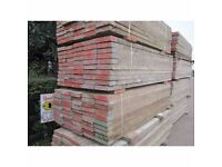 8ft scaffolding planks (ideal for gardening or furniture)