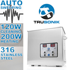 Brand New - Commercial 2.5L 320W Heated Ultrasonic Cleaner