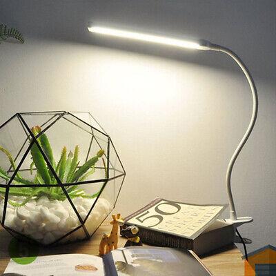 Schreibtischleuchte Bettlampe Clip Reading Dimmbar 3 Modi Verstellbare LED TOP Verstellbare Tischlampe