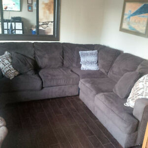 Brown Sectional in great shape