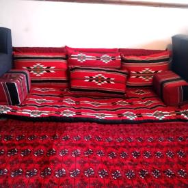 Arabesque Majlis - whole set, including Rug £100