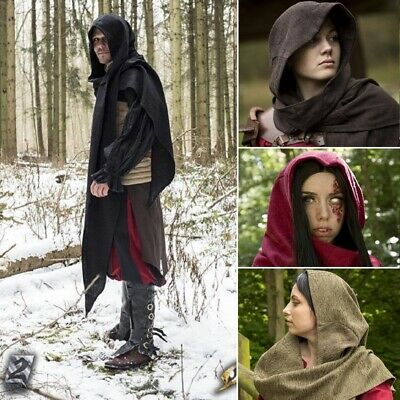 Assassin's Creed, Altair Cowl / Hood, Ideal for Costume or LARP - Assassin Costume For Kids