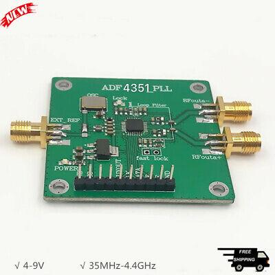 Rf Signal Generator 35mhz-4.4ghz Frequency Rf Synthesizer Adf4351 Pll