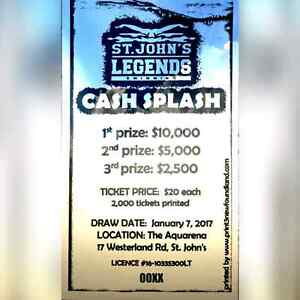 Win $10,000 with Legends Swimming! St. John's Newfoundland image 1