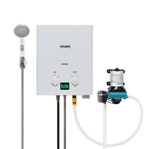 Onsen 6L Portable Tankless Water Heater w/ 12v Pump
