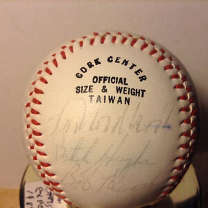 Collection Baseball Signed # 6