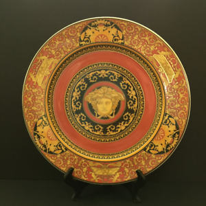 Rosenthal Versace Medusa Red Charger/Service Plate - 2