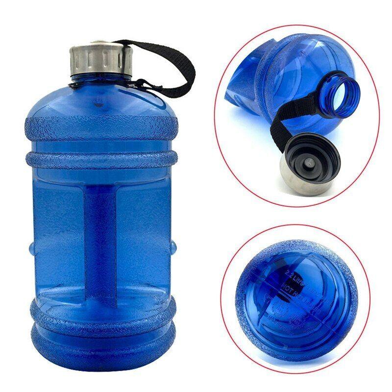 water bottles large capacity outdoor sports half