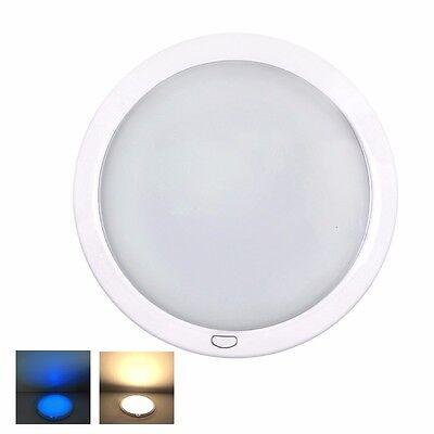 12V LED Deckenleuchten Warmweiß/Blau Innenraum Beleuchtung Wohnmobil Wohnwagen
