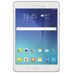 """Samsung Tab A 8"""" 16 GB Tablet White """"BRAND NEW* with Case"""