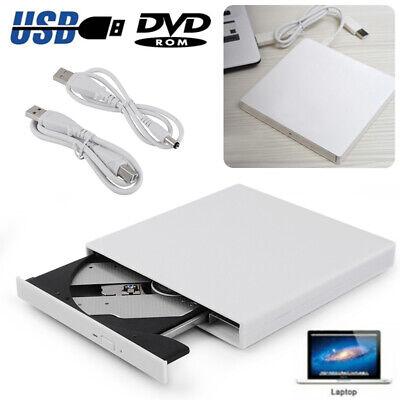 USB 2.0 Graveur Lecteur Externe CD RW DVD ROM Drive Burner Rewriter pr PC Laptop
