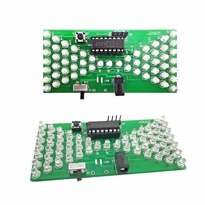 New 5v Electronic Hourglass Diy Kit Funny Electronic Production Kits With Led
