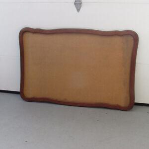 Tableau provençal avec cadre de bois