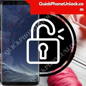 Unlock Your Samsung Galaxy S8 - $19.99 CAD