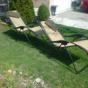 2 AntiGravity Lawn Chairs, $30 EACH FIRM