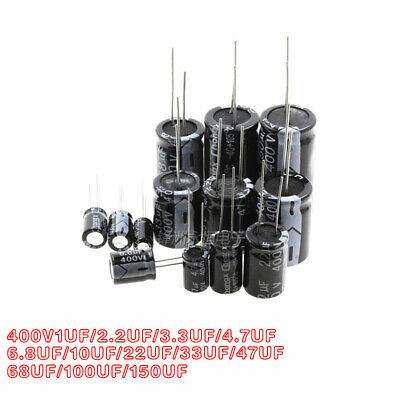 400v 1uf10uf3.34.76.82.222334768100uf Aluminum Electrolytic Capacitor