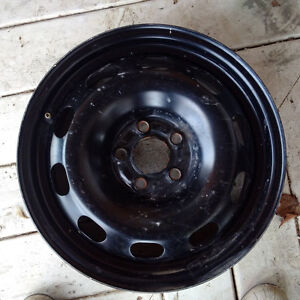 15 in. Volkswagen Steel Rims with Tires