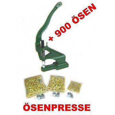 Ösenpresse Ösenstanze Nietenpresse Ösmaschine Druckknopfpresse Handpresse + 900