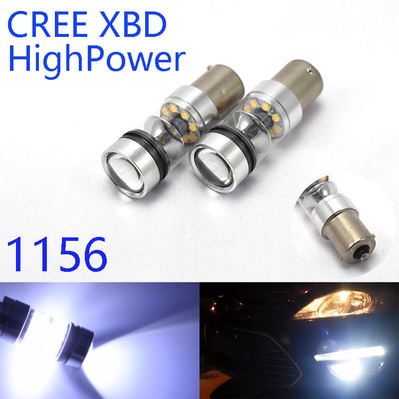 Backup Reverse 1156 BA15S 6500K CREE XBD CANBUS 20SMD LED 180° K1 For Acura H