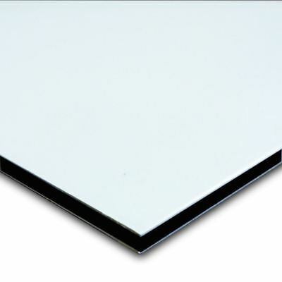 Aluminum Composite Sign Panel Sheet 1 8  X 24  X 48    Matte White