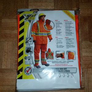 Brand New 3pc. STORM FIGHTER INDUSTRIAL RAIN GEAR