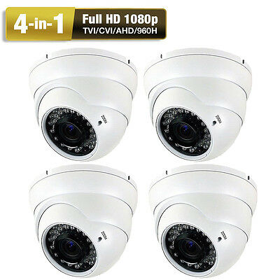 HD 2.6MP 1080P 4-in-1 HDAHD Sony CMOS CCTV 36 Infrared PM Vision Security Camera