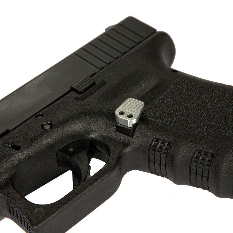 Teardrop Extended Magazine Release for Glock , Various Colors - 1058